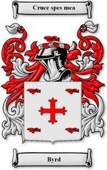 Byrd Family crest