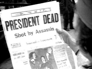 News Headline of Kennedy Assassination. Online: http://www.click-here-now.com/jfk/GEN0018.HTM