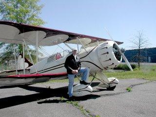 Byrdman with the WACO- ZPF-7