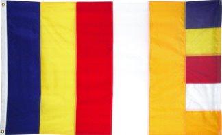 Olcott And The International Buddhist Flag