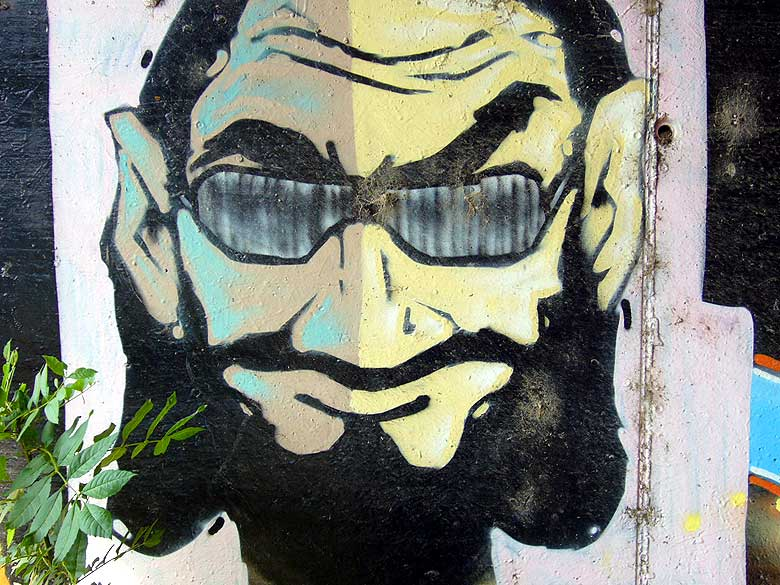 street art. graffiti image captured in granollers, barcelona.