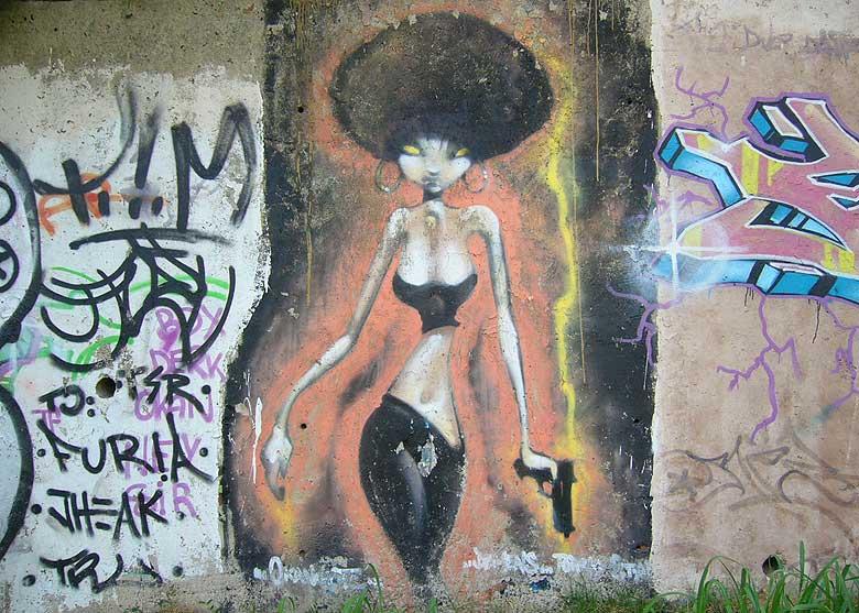 graffiti image captured in granollers, barcelona