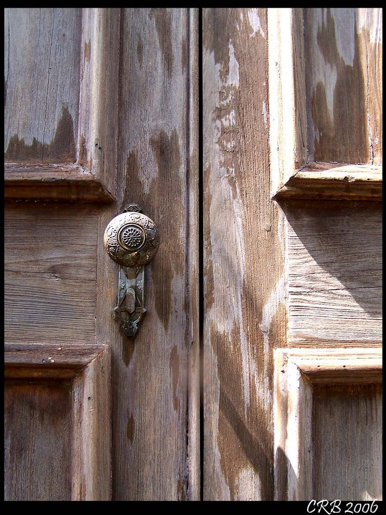 old door knob by charlotte reeves bowman