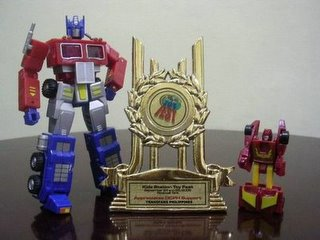 Toy Fest 2005 Appreciation feat. RM G1 Convoy & Micromasters Hot Rodimus