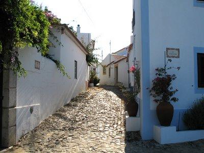 Rua em Vila Nova de Milfontes