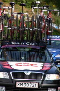 team cars with bikes