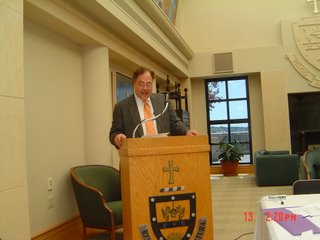 Rabbi Dr. Alan Brill speaking
