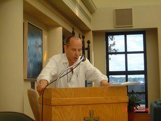 Daniel Statman speaking