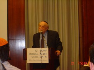 Dr. Walter Reich speaking at Lieberman Award Ceremony about Belzec Concentration Camp