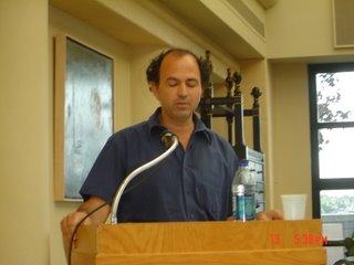 Hanoch ben Pazi speaking