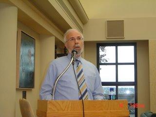 Moshe Sokolow speaking