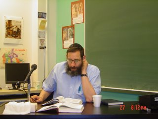 Rabbi Shalom Carmy speaking on the last two chapters of Joshua