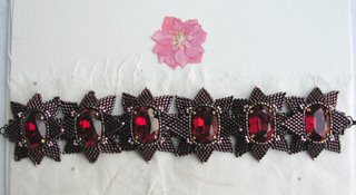 French beaded bracelet