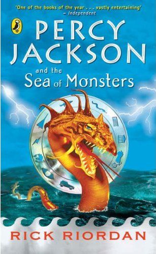 percy jackson sea of monster book report Percy jackson: sea of monsters: film review  loopier departures blended into  the storylines of rick riordan's series of best-selling books.
