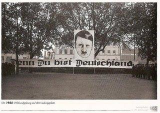 Auch bei Adolf warst du schon Deutschland