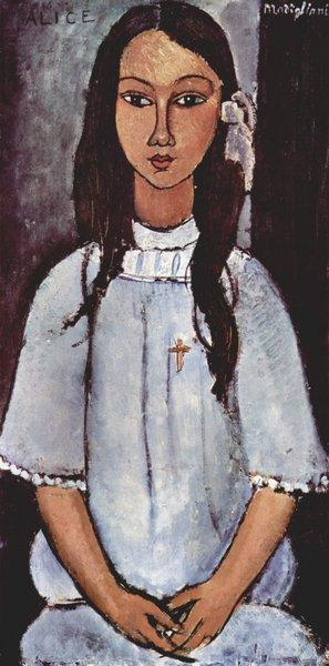 Modigliani, «Alice»