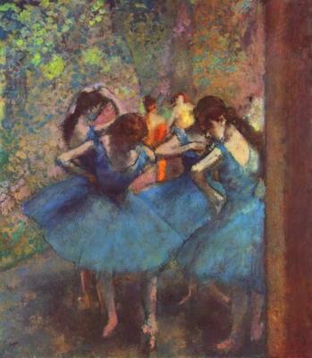 Degas, «Danseuses bleues»