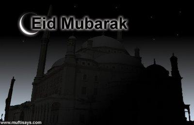 Eid Mubarak from Mufti Says