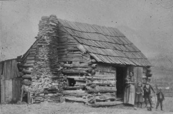 Blue ridge gazette log structures of the appalachians for Appalachia homes