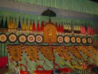 Aana Chamaya pradarsanam - A paraphernalia of elephant decorative