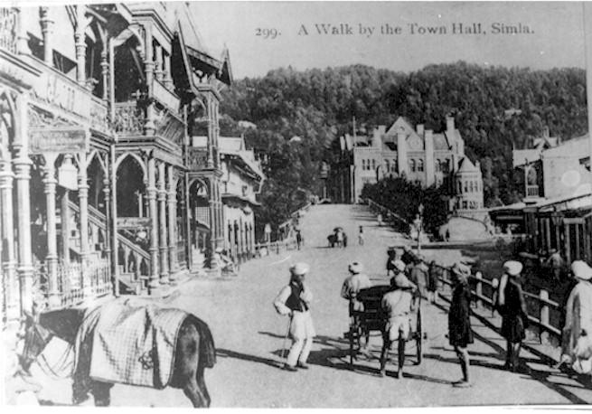 Shimla in the past, History of Shimla