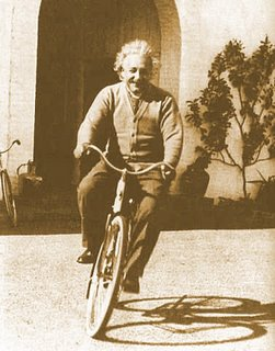 Albert Einstein - not Humberto - Biking in Pasadena: Click the Pic for More Info