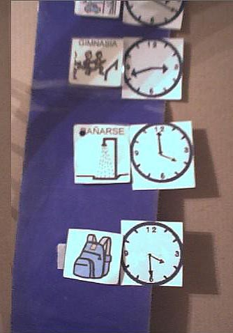 Como ense ar la hora con reloj analogico - Reloj pegado pared ...