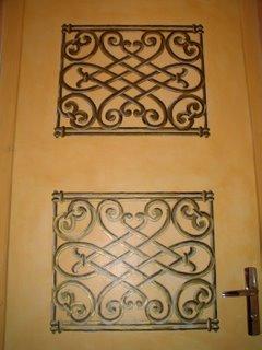 D coplus peindre une porte isoplane un trompe l 39 oeil - Peindre une grille en fer ...