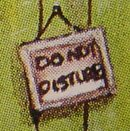 Blechdose - detail - Do not disturb