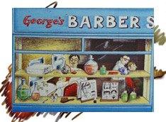 Barber Shop 1990 Silver Crane Company