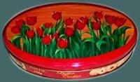Blechdose Tulpen