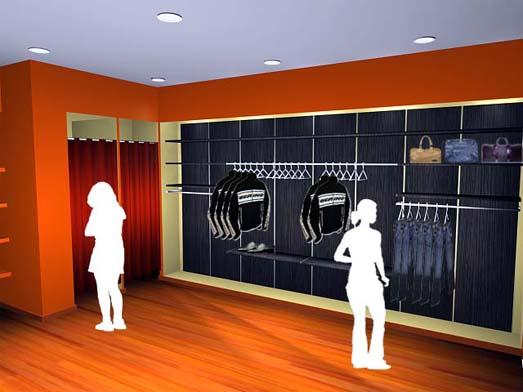 dise o de interiores 3d dise o tienda de ropa