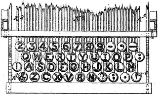 Original QWERTY keyboard