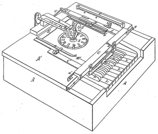 Sholes' second Type Writer