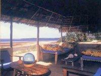 Verandah, Kipungani Explorer, Lamu Island, East Coast, Kenya