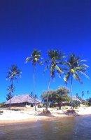 Beach huts, Kipungani Explorer, Lamu Island, East Coast, Kenya