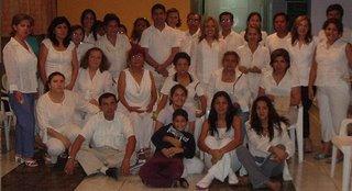 Gurumay Teo y su grupo. Click en la imagen para ampliarla