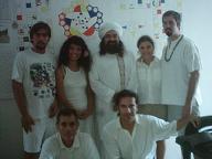 El Sheik GG:: con el grupo de Iniciados