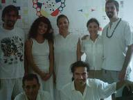 La Mata Ji Fatima GG:: con el grupo de Iniciados de Cancun