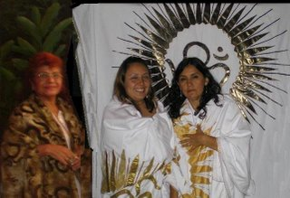 Gurumay Teo y las dos nuevas Mata Ji
