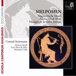 Música de la Grecia Antigua. Ensemble Melpomen (Harmonia Mundi)
