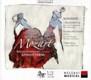 Mozart: Conciertos. Jos van Immerseel