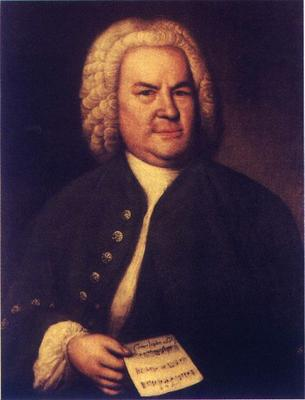 Bach por Elias Gottlob Haussmann