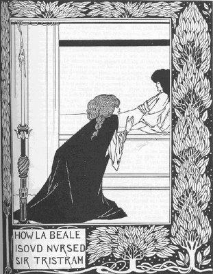 Isolda y Tristán. Aubrey Beardsley