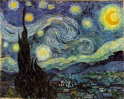 Noche estrellada. Vincent van Gogh