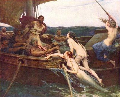 Ulises y las sirenas. Herbert Draper