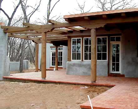 Someday i will build a house adobe house going up - How to build an adobe house ...