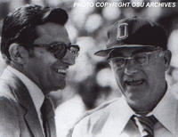 JoePa and Woody Hayes