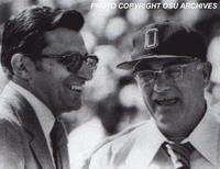JoePa and Woody Hayes