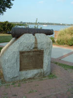 Cannon used in battle w/ John O'Neill